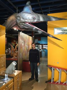 """The """"Denali Pterosaur"""" at the Alaska Museum of Science and Nature"""