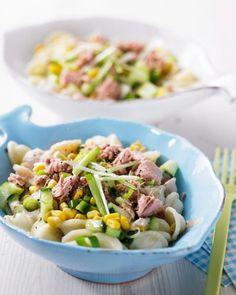 Nudelsalat mit Tunfisch - BRIGITTE