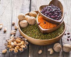 Best Vegan Protein, Vegan Protein Sources, Vegan Protein Powder, Protein Powder Recipes, Protein Foods, Protein Ball, Plant Based Protein, Vegetarian Types, Vitamin A