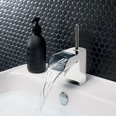 Love Me Monobloc Bathroom Basin Tap from Crosswater http://www.crosswater.co.uk/product/love-me/love-me-basin-monobloc/