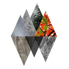 Sense of materials. Inspired by Rachael's triangle #material #architecture #triangle