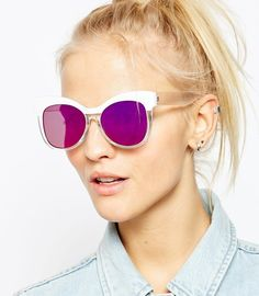 A pair of shades that will have you seeing things through rose colored glasses. | 42 Insanely Awesome Things Under $30 You Can Get At ASOS