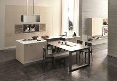 System 22 è la nuova linea di prodotto del noto marchio Febal, che comprende i modelli City e Cherry, entrambi disegnati da Alfredo Zengiaro