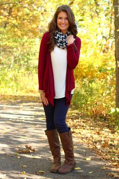 Tact and Tasteful Cardigan - Restocked from UOI Boutique. Shop more products from UOI Boutique on Wanelo. Cute Fall Outfits, Fall Winter Outfits, Autumn Winter Fashion, Fall Fashion, Winter Clothes, Pretty Outfits, Womens Fashion, Bandana, The Cardigans