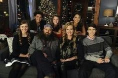 Duck Dynasty's Little Will, Bella, Rebecca, Sadie, Willie, Korie, and John Luke Robertson