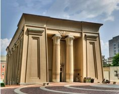 Egyptian Revivial - Medical College of Virginia