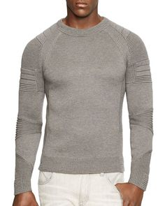 Ralph Lauren Black Label Merino Wool Crewneck Slim Fit Sweater