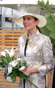 March 10, 2005--Crown Prince Frederik & Crown Princess Mary Of Denmark Visit Australia.Launching The Square-To-Square Project In Federation Square, Melbourne.