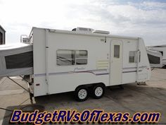 Super Light Self Contained Sedan Towable 2000 Prowler 721C Sleeps 8 See more great bumper pull travel trailers for sale at BudgetRVsOfTexas.com