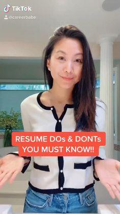 College Life Hacks, Teen Life Hacks, Life Hacks For School, Job Interview Preparation, Job Interview Tips, Resume Writing Tips, Resume Tips, Cv Skills, Acting Scripts