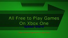 All the Free to Play Games on Xbox One