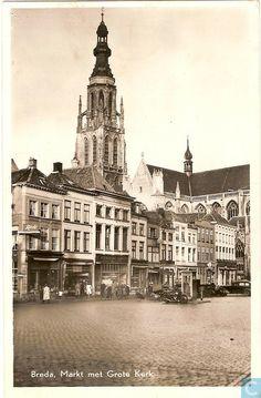Breda - Grote Markt - 1950.