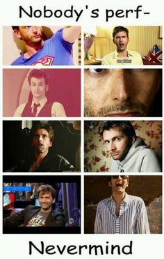 A. p. s: David Tennant... There should be Benedict Cumberbatch somewhere here too... I said: I agree