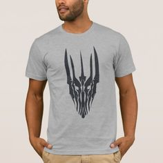 Shop Sauron Head Icon T-Shirt created by thehobbit. Personalize it with photos & text or purchase as is! Horse T Shirts, Movie Themes, Closet Staples, Geek Gifts, The Hobbit, American Apparel, Colorful Shirts, Heather Grey, Stitch