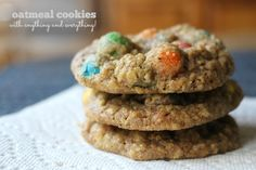 Oatmeal Cookies with Anything and Everything A Southern Grace: maximum productivity (and a novica giveaway!)