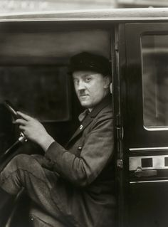 August Sander. The Chauffeur. 1929.
