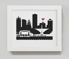 "Milwaukee - 8x10"" cut-out"