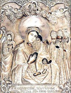 The Kiev-Bratsk Icon of the Mother of God is also commemorated on September 6, May 10, and on Saturday of the Fifth Week of Great Lent.