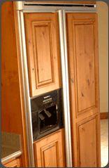 Custom Appliance Panel For Refrigerator. Also Available: Custom Appliance  Panels For Other Kitchen Appliances