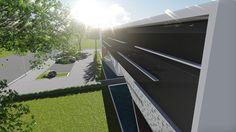 AMIPA Uberlândia.  (Projeto arquitetônico de direito autoral do escritório Luiz Márcio Arquitetos.)