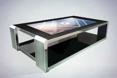 table basse tactile moon