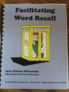 Word Recall!! Review of an awesome resource by Great Ideas for Teaching!!