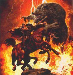 Fenrir vs Odin
