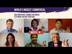 Join the World's Biggest Commercial and help us End Polio Now.