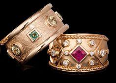esola King Design, Handcrafted Jewelry, Cuff Bracelets, Fashion, Handmade Chain Jewelry, Moda, Handmade Jewelry, Fashion Styles, Handmade Jewellery