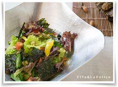 韓国風サラダ~特製練りごまドレッシング~ |La Felice 旬菜料理教室
