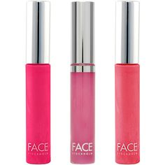 FACE Stockholm Lip Gloss Trio ($29) ❤ liked on Polyvore featuring beauty products, makeup, lip makeup, lip gloss, beauty, lips, maquillaje, no color, shiny lip gloss and face stockholm
