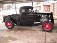 Some nice vintage speed parts on this truck.  1935 Ford Pickup for Sale | ClassicCars.com | CC-620720