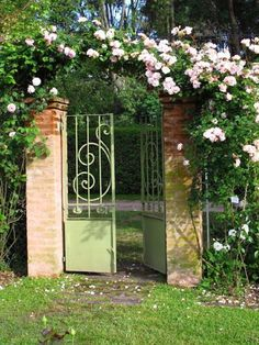 puertas de jardn entrada al paraso