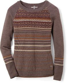 If she wants lightweight warmth and great style, grab the Ethno Graphic sweater. This lightweight Merino sweater is soft and luxurious, and offers a great warmth-to-weight ratio.