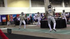 Fencing in Eight Minutes Three Seconds.