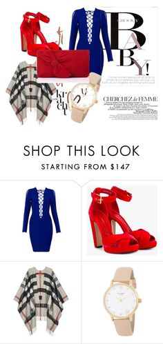"""""""You can do this!"""" by w-zajac on Polyvore featuring moda, La Femme, Alexander McQueen, Burberry, Kate Spade, November i L.K.Bennett"""