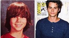 Dylan O'brian before and now <3