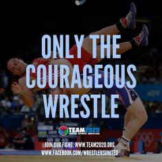 only the bold choose too wrestle