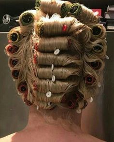 Short Bob Haircuts, Bob Hairstyles, Updo Styles, Hair Styles, Hair Curlers Rollers, Wet Set, Roller Set, Pin Curls, Vintage Glamour
