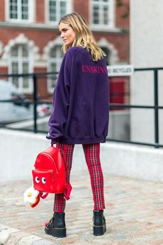 The Street Report: London Fashion Week 2017 Model Street Style, Spring Street Style, Casual Street Style, Best Cheap Clothing Websites, Tiny House Nation, London Outfit, London Fashion, Street Fashion, Women's Fashion