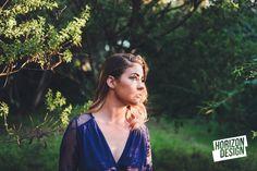 Golden Hour light on Rebekah.