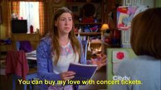 You can buy my love with concert tickets.