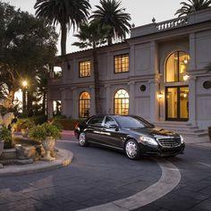 All-new Mercedes-Maybach S600 in Santa Barbara, California.