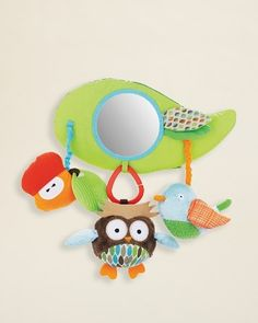 Skip Hop -  Infant Treetop Friends Stroller Bar Toy