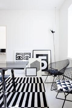 urbnite           - Diamond Chair by Harry Bertoia for Knoll