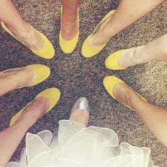 Yellow Wedding Shoes :)