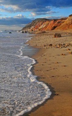 ✮ Gayhead Cliffs - Martha's Vineyard...miss you... http://www.pinterest.com/giannbrooks/pinterest-most-popular/