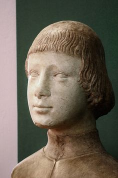 Bust of a young man, Francesco Laurana studio, Regional Gallery of Palazzo Abatellis by Ciccio Taddeo , via Flickr