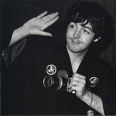 Beatle Paul McCartney, circa mid 60's
