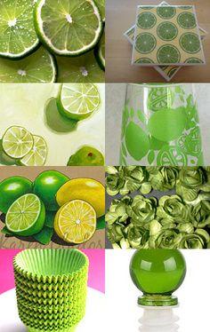 I love lime green ...